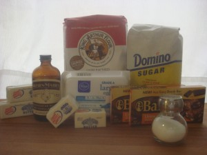 Kahlua Brownies Ingredients