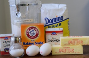 Snickerdoodle Ingredients